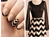 Manicure Monday: Chevron Stripes