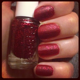 #ManicureMonday Matte Jelly Glitter