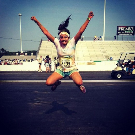 arielle jumping