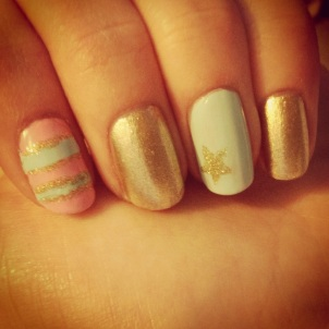 Manicure Monday: Spring Designs via The Collabor-eight