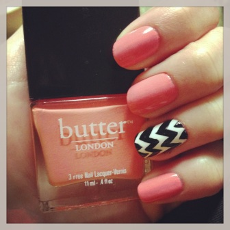 Manicure Monday: Fun with Chevron via The Collaboreight