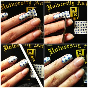 Manicure Monday: Alumni Pride via The Collabor-eight
