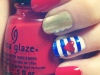 Manicure Monday: Red, White & Blue