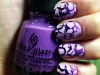 Manicure Monday: Ombre Graffiti