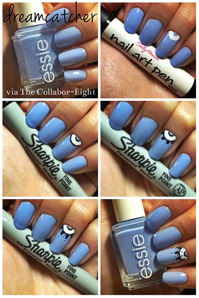 Manicure Monday: Dreamcatcher via The Collabor-Eight
