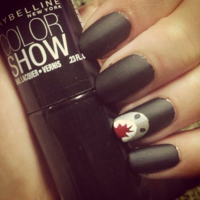Manicure Monday: Shark Week via The Collabor-eight