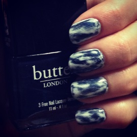 Manicure Monday: Acid Wash via The Collabor-Eight