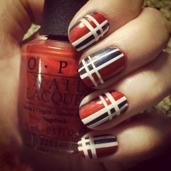 Manicure Monday: Mad About Plaid via The Collabor-eight