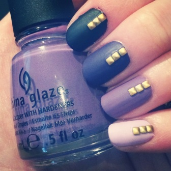 Manicure Monday: Shades of Purple via The Collabor-eight
