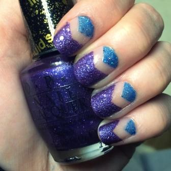 Manicure Monday: Liquid Sand via The Collabor-eight