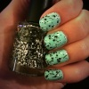 Manicure Monday: Mint Chocolate Chip