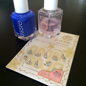 Manicure Monday: Glitz & Glam via The Collabor-Eight