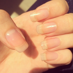 Manicure Monday: Au Naturale via The Collabor-eight