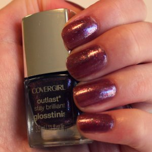 COVERGIRL Glosstinis in Violet Flicker via The Collabor-eight