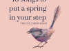 Listen and download: 10 Songs to Put a Spring In Your Step